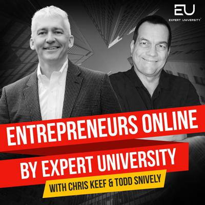 If you're looking to achieve legitimate time and financial freedom through being an online entrepreneur, this is the place to kill it! Eight-figure Amazon FBA Sellers and Serial Entrepreneurs Chris Keef and Todd Snively are back with a much-awaited reboot of their acclaimed show. The Entrepreneurs Online by Expert University podcast is a business in a box entrepreneurship incubator that puts together the best tips, strategies, experience, and guest network to help you succeed online.Chris and Todd have trained over 6,000 members to create profit using Amazon FBA and the wholesale method. Expect to put in the work, though. This is not your typical internet marketing nonsense that promises millions by pressing a magic button. These guys are the real deal. They sell multi-millions online every year, and pull back the curtain on how to do it the correct way for long term, sustainable income. They actually help you build a real business, and they do it the right way.