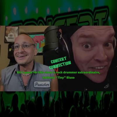 """Cover art for CC hosted by Ric Hare July 23, 2020 Ric's guest for this show is Anthony """"Tiny"""" Biuso"""