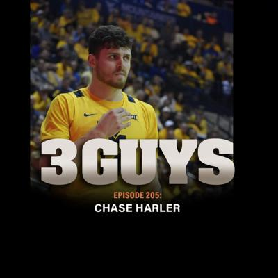 Cover art for WVU's Chase Harler with Tony Caridi, Brad Howe and Hoppy Kercheval