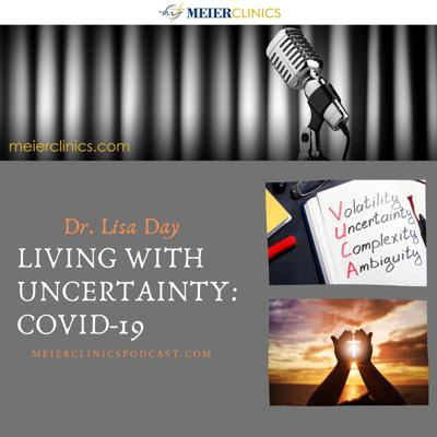 Cover art for Living With Uncertainty: Covid-19