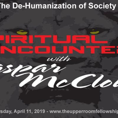 Cover art for Spiritual Encounters - The De-Humanization of Society