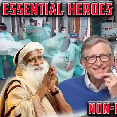 Cover art for Essential HEROES + Non-Essential food shortages - Dr. Paul Saladino