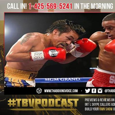 Cover art for ☎️Floyd Mayweather Plans On Helping Errol Spence Jr😱 Against Manny Pacquiao❗️
