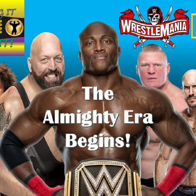 Cover art for The Almighty Era Begins - Bobby Lashley WWE Champion