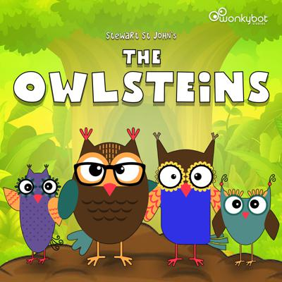 The Owlsteins is a whimsical, narrated podcast series chronicling the lives of a sweet owl family. Told in rhyme and narrated by creator Stewart St John, each short-form episode takes the listener deep inside the Owlstein family's magnificent treehouse located on Mount Hickle Huck Peak where Ollie the dad, Olympia the mom, Olivia the daughter and Owen the son live, love and laugh together. Filled with valuable life lessons and positive messages, The Owlsteins is a heartwarming series for parents, grandparents, children and grandchildren alike.Created, written, directed and narrated by Stewart St John. Produced by Stewart St John, Michael Plahuta and Todd Fisher. With music by Stewart St John and Michael Plahuta. A Wonkybot Studios Original Production.