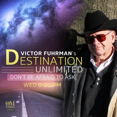 """Join Victor """"The Voice"""" Fuhrman as he takes you through a magical yet grounded exploration of the mysterious, the shrouded and the unexplained. Join him on the bridge between science and spirituality with engaging topics, fascinating guests and a Destination Unlimited!Listen Live every Wednesday, 8 PM ET, at http://omtimes.com/iom"""