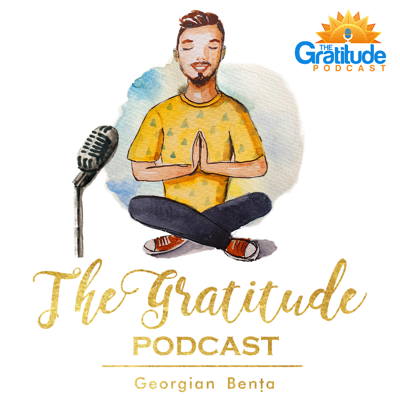 Gratitude is the one thing that helped me most in my life from all the personal development and spiritual practices that I did and that's why I want to inspire 100.000 people to discover how to feel grateful more often and live a happy life.