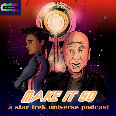 Welcome to MAKE IT SO: A STAR TREK UNIVERSE PODCAST, devoted to the modern CBS All Access era of Star Trek, including Discovery, Picard, the upcoming Lower Decks and beyond...Hosted by Tony Black and Kurt North, join them as they dig into every new episode of Star Trek from a fan, and an analytical perspective, alongside a range of Star Trek-loving guests...A proud member of the We Made This podcast network.