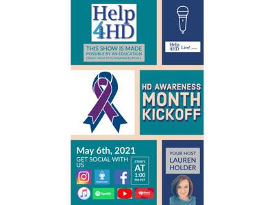Cover art for HD Awareness Month 2021 Kickoff