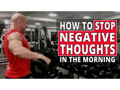 Cover art for How To Stop Negative Thoughts In The Morning Through Fitness