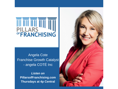Cover art for Franchise Growth by angela COTÉ Inc