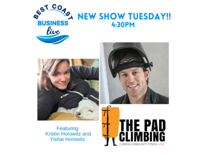 Cover art for Best Coast Business Live with The Pad Climbing and All Out Events