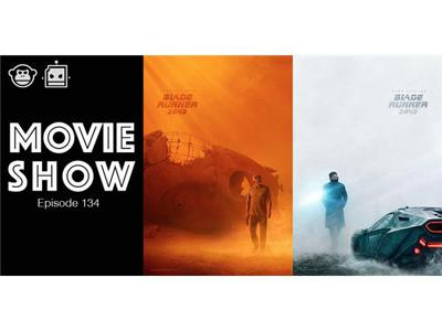 Cover art for Episode 134: 'Blade Runner 2049' Review and Interviews