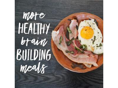 Cover art for More Healthy, Brain Building Meals