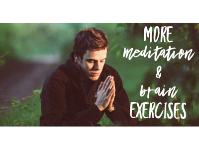 Cover art for More on meditation and brain specific exercises