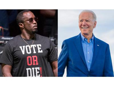Cover art for Diddy says he may hold the Black Vote hostage? Biden; Creates OurFairShare