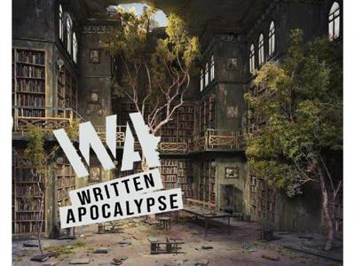 Cover art for Chris Pike on the Written Apocalypse