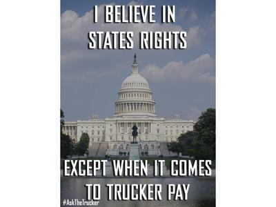 Cover art for Trucking Open Forum- Feature topic- FMCSA  Preemption Petition by ATA