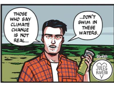 Cover art for Mark Trail cartoonist Jules Rivera: Nature Dad's environmentalist roots & future