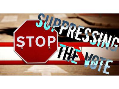 Cover art for Why are the Republicans making it harder to vote? voter suppression its just sad