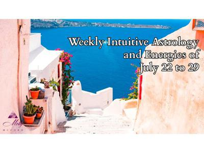 Cover art for Weekly Intuitive Astrology and Energies of July 22 to 29