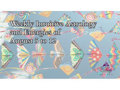 Cover art for Weekly Intuitive Astrology of August 5 to 12