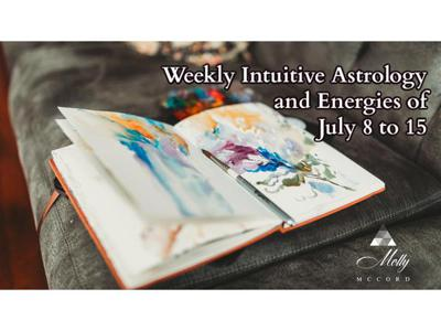 Cover art for Weekly Intuitive Astrology and Energies of July 8 to 15