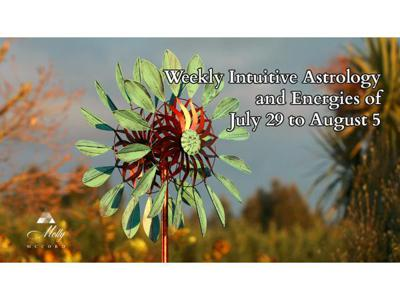 Cover art for Weekly Intuitive Astrology of July 29 to August 5