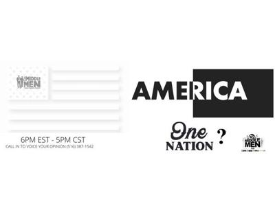Cover art for America - One Nation ??