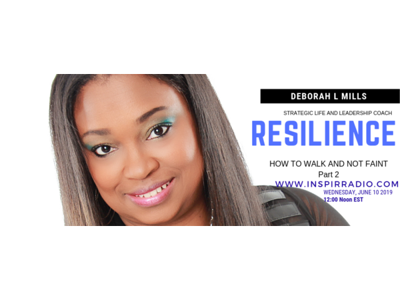 Cover art for Resilience: Walk and Not Faint - Continued