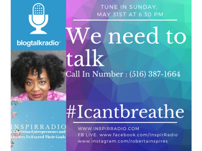 Cover art for We Need To Talk #Icantbreathe