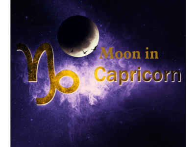 Cover art for Moon in Capricorn - Moving To Sustainability & Responsibility