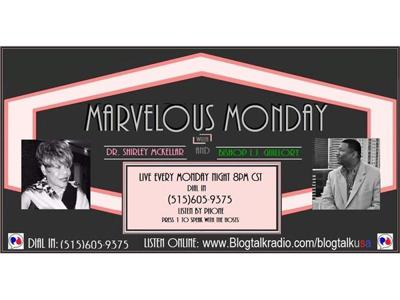 Cover art for Marvelous Monday with Dr. Shirley McKellar and Bishop L.J. Guillory