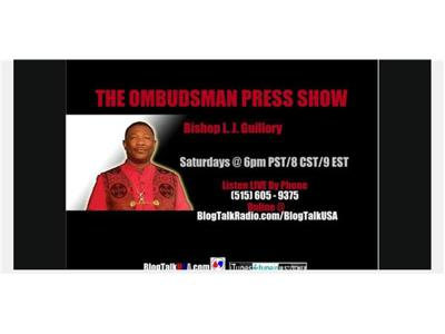 Cover art for The Ombudsman Press Show with Bishop L.J. Guillory