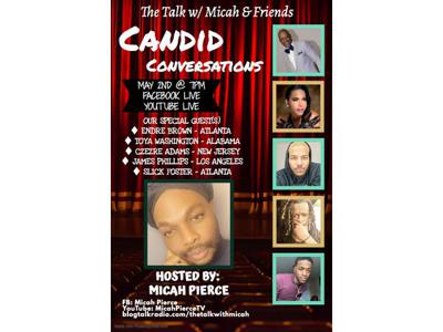 Cover art for Episode 84 Candid Conversations 5.2.2020