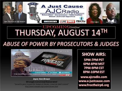 A Just Cause Coast 2 Coast - Abuse of Power by Prosecutors & Judges