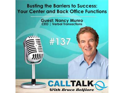 Cover art for Busting the Barriers to Success: Your Center and Back Office Functions