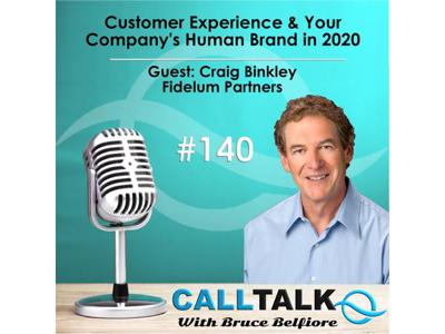 Cover art for Customer Experience & Your Company's Human Brand in 2020 | Guest: Craig Binkley