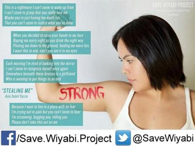 Cover art for Decolonize Anti-Violence Movement & Sexual Assault Awareness Month - Save Wiyabi