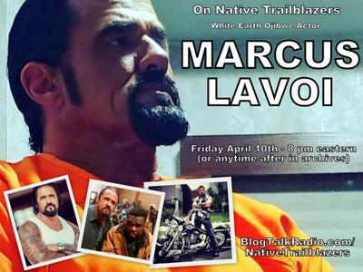 Marcus LaVoi - White Earth actor on ABC's For Life