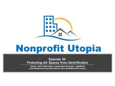 Cover art for Protecting Arts Spaces from Gentrification