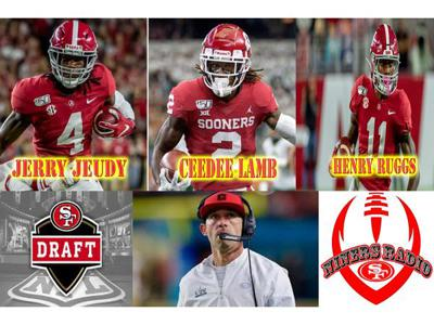 Cover art for NFL Draft Live with NINERS RADIO