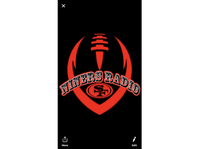 Cover art for NINERS PLAYOFF LIVE AT 7PM
