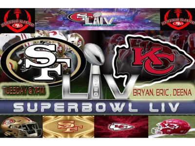 Cover art for Super Bowl LIV Niners Radio Special