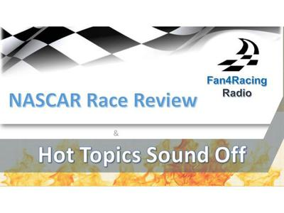 Cover art for Pocono and Utah NASCAR Race Review with Hot Topics Sound Off