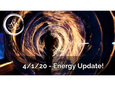 Cover art for 4/1/20 Energy Update! - Plus, Healers Summit