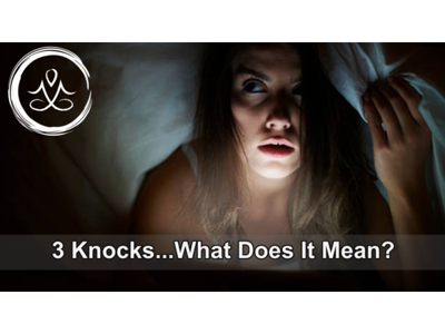 Cover art for 3 Knocks...What Does It Mean?