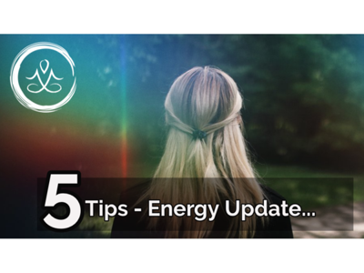 Cover art for Energy Trifecta (Energy Update)- Plus, 5 Tips For Dealing With This Weird Energy