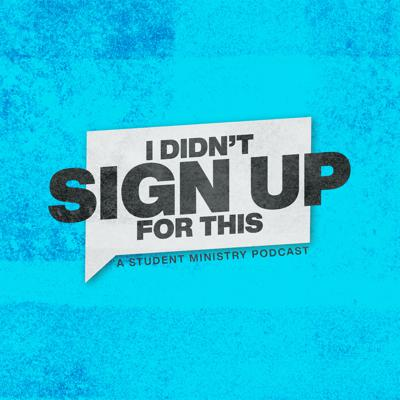 I Didn't Sign Up For This is a podcast hosted by Nathan Folks and Aaron Talbot, who are youth ministry professionals in Augusta Georgia. They share their personal experiences and tell the untold story of Youth Ministry...and what they ended up doing that they did not sign up for.