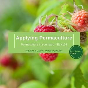 Cover art for Applying Permaculture-ELY103